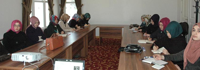 İslam Felsefesi Tarihi Kürsüsü